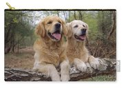 Golden Retriever Dogs Carry-all Pouch