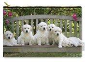 Golden Retriever Puppies Carry-all Pouch