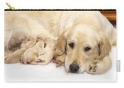 Golden Retriever Puppies Suckling Carry-all Pouch