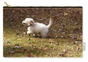 Golden Retriever Puppy Carry-all Pouch by Andrea Anderegg