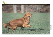 Golden Retriever Running Carry-all Pouch