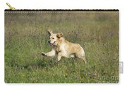Golden Retriever Running Carry-all Pouch