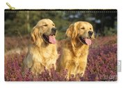 Golden Retrievers Dogs Carry-all Pouch