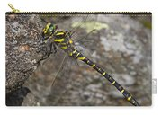 Golden-ringed Dragonfly Carry-all Pouch