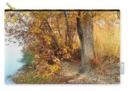 Golden Riverbank Carry-all Pouch