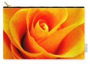 Golden Rose - Digital Painting Effect Carry-all Pouch