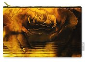 Golden Rose On The Lake Carry-all Pouch