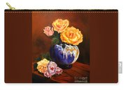 Golden Roses Jenny Lee Discount Carry-all Pouch