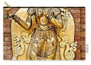 Golden Sculpture In A Hindu Temple In Patan Durbar Square In Lalitpur-nepal Carry-all Pouch