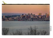 Golden Seattle Skyline Sunset Carry-all Pouch