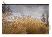 Golden Shades Of Winter Carry-all Pouch