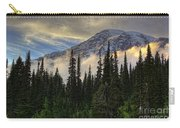 Golden Shawl On The Mountain Carry-all Pouch