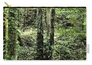 Golden Silence In The Forest Carry-all Pouch
