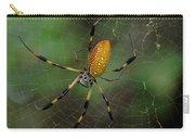 Golden Silk Spider 10 Carry-all Pouch