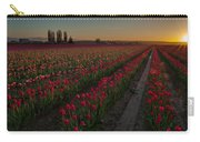 Golden Skagit Tulip Fields Carry-all Pouch