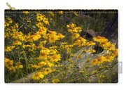 Golden Spring Flowers  Carry-all Pouch