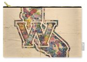 Golden State Warriors Poster Vintage Carry-all Pouch