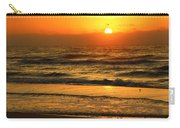 Golden Sun Up Reflection Carry-all Pouch