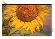 Golden Sunflower Carry-all Pouch by Adrian Evans