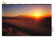 Golden Sunrise Over Farmland Carry-all Pouch