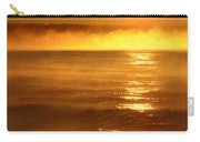 Golden Sunrise Over The Water Carry-all Pouch