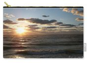 Golden Sunset  Clouds Carry-all Pouch