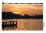 Golden Sunset Lake Horicon Lakehurst Nj Carry-all Pouch