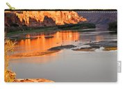 Golden Sunset On The Colorado Carry-all Pouch by Marty Koch
