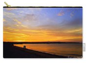 Golden Sunset On The Harbor Carry-all Pouch