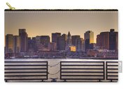 Golden Sunset Over Boston Carry-all Pouch
