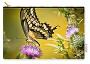 Golden Swallowtail Carry-all Pouch