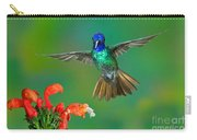 Golden-tailed Sapphire At Flower Carry-all Pouch