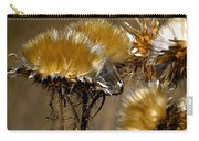 Golden Thistle Carry-all Pouch by Bill Gallagher