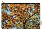 Golden Tree Lined Sky Carry-all Pouch