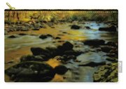 Golden View Of The Little River In Autumn Carry-all Pouch by Dan Sproul