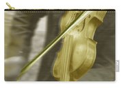 Golden Violin Carry-all Pouch