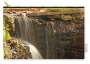 Golden Waterfall October In Ohio Carry-all Pouch