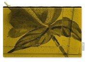 Golden Wood Flower Carry-all Pouch