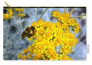 Golden Yarrow And Visitor Carry-all Pouch