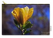 Golden Yellow Magnolia Blossom Carry-all Pouch