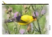 Goldfinch #3 By Kerri Farley Carry-all Pouch