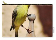Goldfinch Contemplating 031015ac Carry-all Pouch