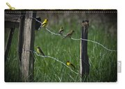 Goldfinch Gathering Carry-all Pouch