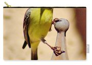 Goldfinch Hanging On 031015ac Carry-all Pouch