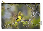 Goldfinch In Spring Carry-all Pouch