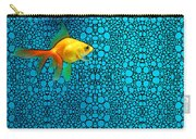 Goldfish Study 3 - Stone Rock'd Art By Sharon Cummings Carry-all Pouch
