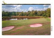 Golf Course Beautiful Landscape On Sunny Day Carry-all Pouch