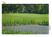 Golf Course Lay Up Carry-all Pouch by Frozen in Time Fine Art Photography