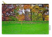 Golf My Way Carry-all Pouch by Frozen in Time Fine Art Photography