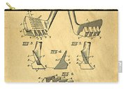Golf Putter Patent Carry-all Pouch by Edward Fielding